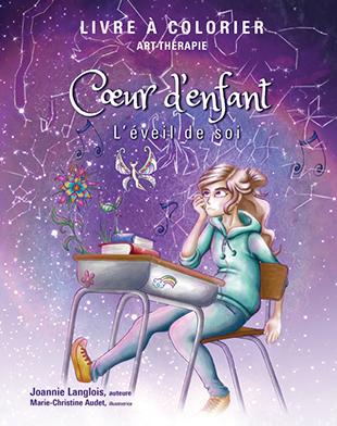 Coeur d'enfant livre à colorier de Joannie Langlois